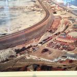 Photo of Paragon Park taken when coaster was still operating