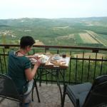 Terrace view from Villa Borgo