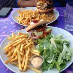 empire burger et veggie bagel