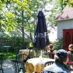 Café du Clocher, situé dans une ancienne écurie