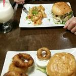 Best burgers, fried califlower and onion rings!!!