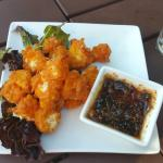 Cheese Curds With Spicy Honey Sauce