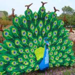 Peacock in Legos