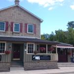 Outside of the restaurant Heavon on 7 Bistro and Pub