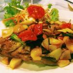 fish with thai vegetable