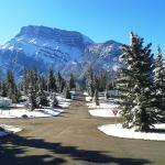 Mount rundle from Tunnel Mountain campground V2
