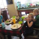 In House Guests enjoying their morning meals