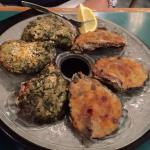 Oysters Rockefeller and Bienville