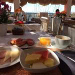Excelente desayuno con vistas