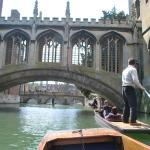 Why not go punting on the River Cam?
