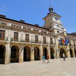 In het centrum van Oviedo