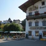 Hotel Alte Post mit Biergarten. Toll !