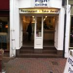 A small fish and chip place, take away, very tasty!!😛