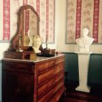 La chambre Paul Sabatier,dont le buste trône en bonne place,Prix Nobel de chimie,ancêtre du mait