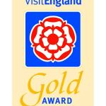 2015 Gold Award for Excellence from Visit England