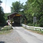 Covered Bridge Near Bedford Pa