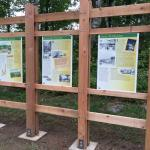 Brand new signs detailing the history of Rib Mountain State Park - very nice!