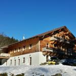Pension Klose in the snow