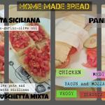diferentes opciones para probar nuestro pan casero!