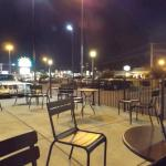 Starbucks patio