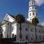 St. Michael's, the oldest church in Charleston, built in 1761.