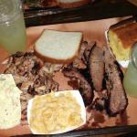 Pulled pork, brisket, lemonade, coleslaw, mac & cheese