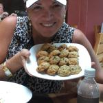 Miraval Spa - famous banana chocolate chip cookies, baked just for me!
