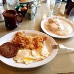 Breakfast at Sherman Inn, Wolf Point Montana