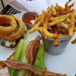 Ohio Burger and Brisquet Hash - perfect!!