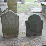 Circular Church grave markers