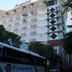 Façade de l'hôtel Angella.