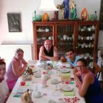 "Breakfast table Theatre Group "" Forza Venite Gente"" as Guests"