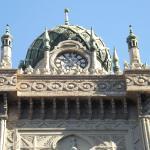 Minarets and clock tower