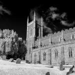 Down Cathedral taken in Infra Red