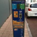 Parking Ticket Vending Machine at Burt Way
