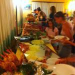 Cena di gala a buffet
