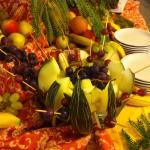 Frutta a buffet