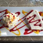 Le dessert choisi, simple et bon.
