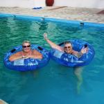 Fun in the pool !