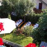 Grigliata in giardino