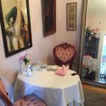 Adorable tea room!