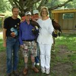 The falconry gang