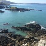 Beautiful views and a small rocky beach just down the road from Mortehoe!