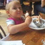 Gotta love the Zizzi's ice cream :-)
