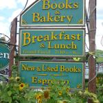 Sandy's books and bakery