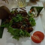 Boeuf luc-lac au menu