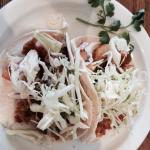 Agave Shrimp Tacos a pair!