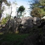 Amazing rocks in the Abbey caves Reserve next to Little Earth
