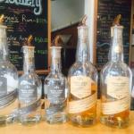 Fantastic, unique rum & gin, all locally sourced & distiller.