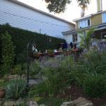 Les paliers de terrasse...